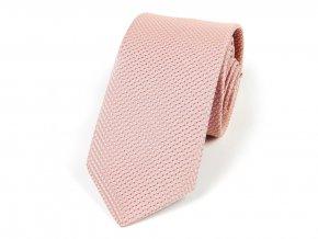 51402022 kravata ctverecek ruzova pudrova (1)
