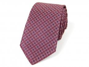 51402014 kravata mrizka vinova