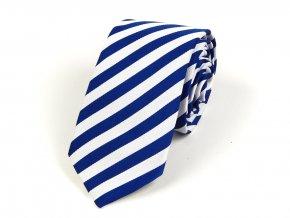 51402191 kravata bikolora recko modra bila