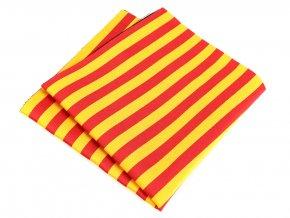 57401137 kapesnicek bikolora spanelsko cervena zluta 2