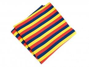 57401130 kapesnicek trikolora rumunsko cervena zluta modra 2