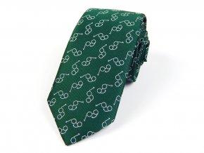 51402223 kravata bryle zelena