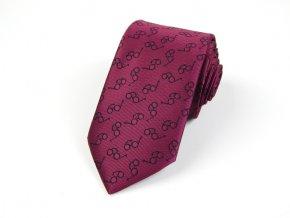 51402225 kravata bryle fuchsiova