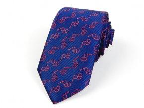 51402226 kravata bryle modra