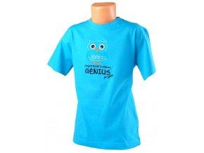 71100386 triko detske s vysivkou genius tyrkysova 1