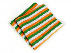 57401128 kapesnicek bikolora bila zelena oranzova 1