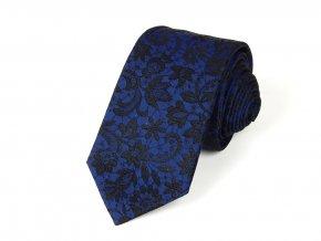 51402288 kravata floral modra