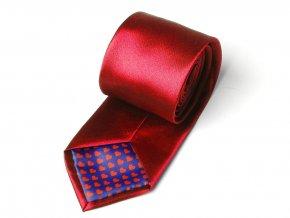 51402094 kravata sate lavabl srdicka cervena