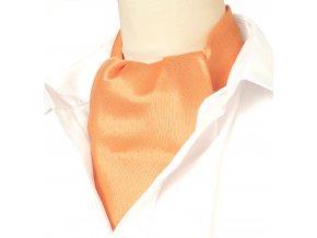 18100228 kravatosala ASKOT oranzova ctverecek