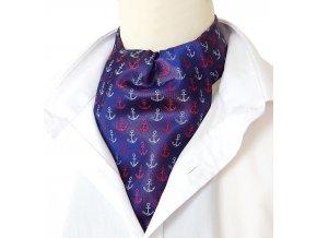 18100361 Askot kravatosala nanornicka kotva modra