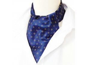 18100388 kravatosala ASKOT polyester KYTKY MODRA