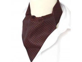 kravatosala ASKOT polyester pulmesic cervena
