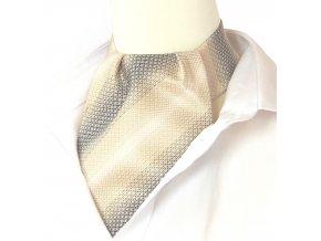kravatosala ASKOT polyester vazba BEZOVA