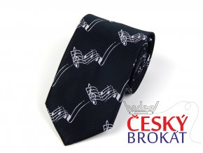 51402393 kravata roztancena notova osnova cerna 1