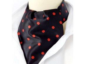 kravatosala pes puntik cerna