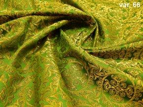 r 5681 66 brokat 51056 zlata zelena 1