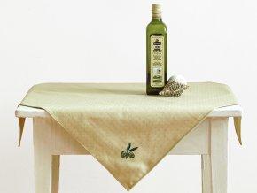 27601328 ubrus napron oliva zelena