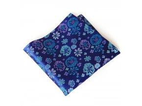 57400342 kapesnicek polyester floralni fialova tyrkysova 1