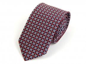 51401840 kravata cervena bila