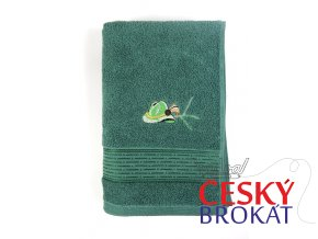 71100681 osuska frote klobouk zelena
