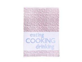 Utěrka bavlna/len 50x70 Cooking