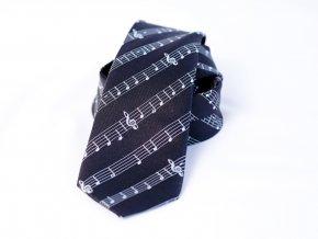 51402417 kravata PESh noty 7cm