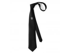 Kravata PESh 8 cm LOGO hasiči zlatý znak