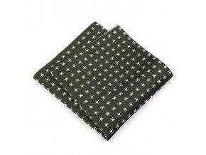 57400732 KAPESNICEK polyester kyticka zelena