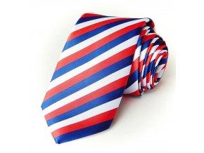 51400253 kravata polyester trikolora
