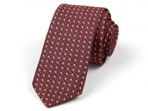 51401138 kravata polyester mrizka rezava