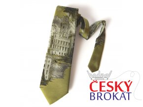Kravata PESh 8 cm HLUBOKÁ NAD VLTAVOU