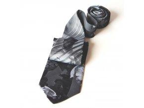 Kravata PESh 8 cm FOTBALISTA modrá