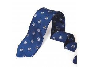 Kravata PESh 8 cm KORMIDLO modrá