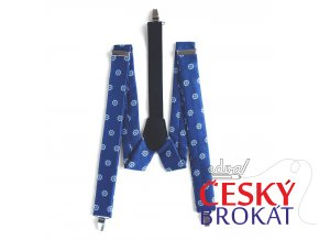 Námořnické šle PESh 053 KORMIDLO modrá