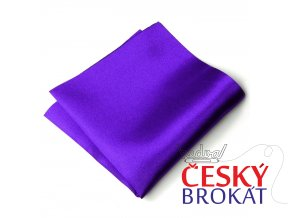 Kapesníček PESh 400 satén fialová