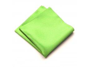 Kapesníček PESh 400 satén zelená