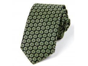 51401435 kravata kyticka zelena