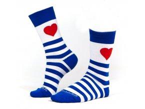 Ponožky zamilovaný námořník