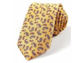 51401440 kravata turek zluta