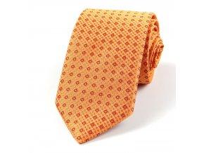 51401443 kravata kolecko oranzova