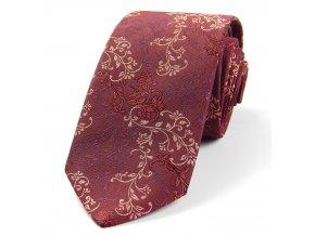 51401450 kravata floral vinova
