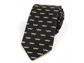 51401490 kravata fousky zluta