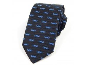 51401492 kravata fousky modra