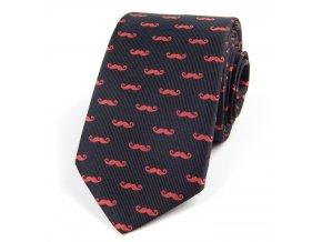 51401494 kravata fousky cervena