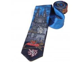 51401457 kravata praha korunovacni klenoty prazsky hrad modra 3