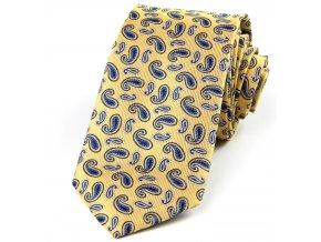 51401519 kravata turek zluta