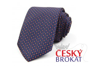 51401666 kravata kyticka modra