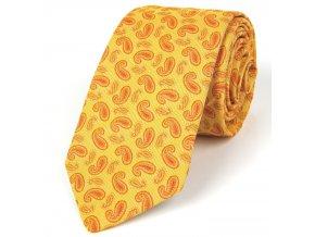 51401709 kravata turek zluta