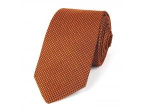 51401707 kravata putik oranz rezava