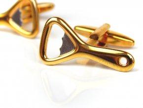 P01572 manzetove knoflicky otvirak zlata 1
